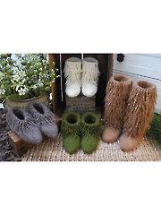 Moonkoosa Boots Knit Pattern