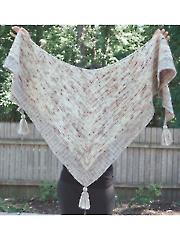 Knitflix and Chill Shawl Knit Pattern