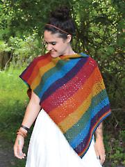 Rainboho Shawl Knit Pattern