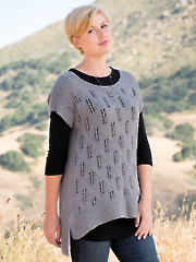 ANNIE'S SIGNATURE DESIGNS: Twin Ridge Tee Knit Pattern