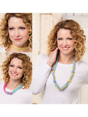 Knotted Necklaces Knit Pattern
