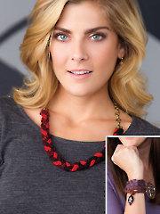 Designer Jewelry Knit Pattern