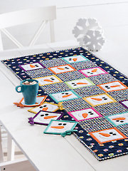 EXCLUSIVELY ANNIE'S QUILT DESIGNS: Happy Snowmen Kitchen Pattern Set