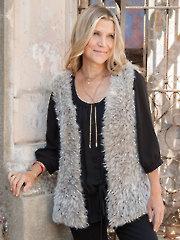 ANNIE'S SIGNATURE DESIGNS: De Luxe Vest Knit Pattern
