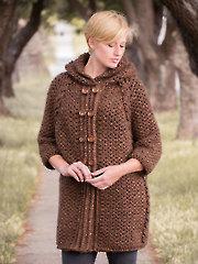ANNIE'S SIGNATURE DESIGNS: Anacapa Cardigan Crochet Pattern