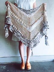 Ohra Shawl Knit Pattern