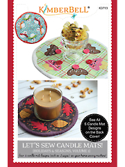 Let's Sew Candle Mats! Sewing Book