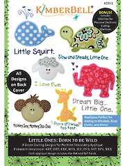 Machine Embroidery CD: Little Ones Born to be Wild