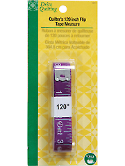 "Quilter's 120"" Flip Tape Measure"