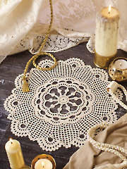 Scalloped Sunburst Doily Kit