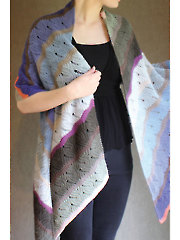 Windfeather Shawl Knit Pattern