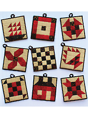 Classic Patch Pot Holders Pattern