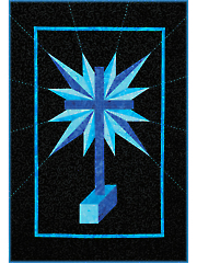 Luminous Cross Quilt Pattern