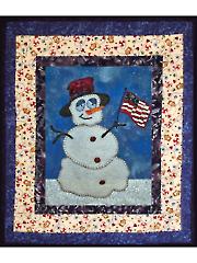 Snowy Quilt Pattern