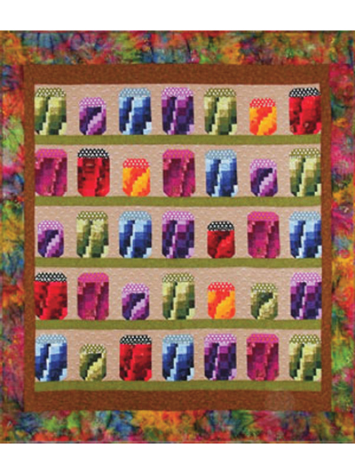 Jelly Jars Quilt Pattern