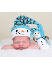 Snowman Hat & Stuffy