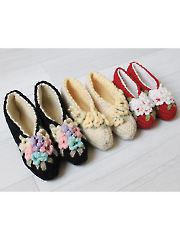 Vintage Bloom Slippers