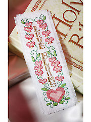 Love Blooms Cross Stitch Pattern