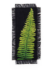 Fern Frond Bookmark Cross Stitch Pattern