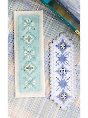 Hardanger Bookmark Duo Cross Stitch Pattern