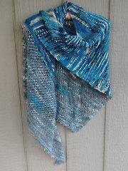 Chicago Field Trip Shawl Knit Pattern