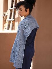 Sedum Shawl Knit Pattern