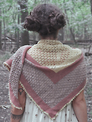 Lunaria Shawl Knit Pattern