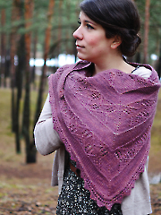 Canopy Shawl Knit Pattern