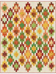 Mayan Steps Quilt Pattern