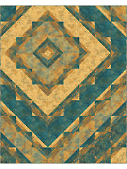 Concentric Quilt Pattern