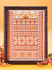 Shades of Autumn Cross Stitch Pattern