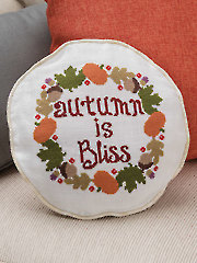 Autumn Is Bliss Cross Stitch Pattern