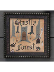 Ghostly Forest Cross Stitch Pattern