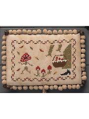 Manic Mushroom Ornament Cross Stitch Pattern