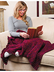 Shades of Wine Lapghan