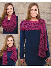 Berrylicious Buttoned Cowl