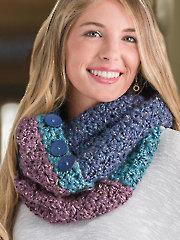 Color-Block Cowl Crochet Pattern