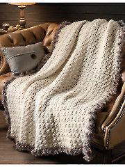 Fur Throw Crochet Pattern