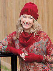 Simplicity Hat, Gloves & Scarf Crochet Pattern