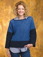 Color-Block Chic Pullover