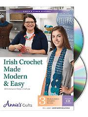 Irish Crochet Made Modern & Easy Class DVD
