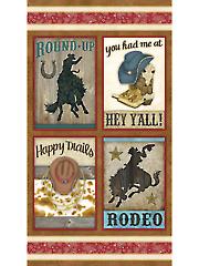 """Rodeo Panel 24"""" x 44"""""""