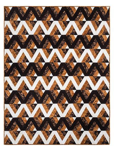 EXCLUSIVELY ANNIE'S QUILT DESIGNS: Opposites Attract Quilt Pattern