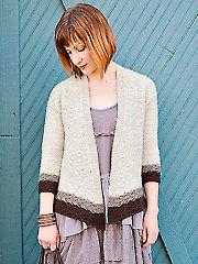 Midtown Cardigan Knit Pattern