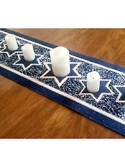 Festival of Lights Table Runner Pattern