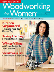 Woodworking for Women July 2004