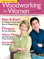 Woodworking for Women May 2004