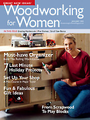 Woodworking for Women January 2005