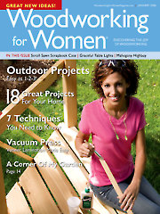 Woodworking for Women January 2006