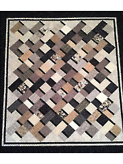 Simple Ribbons Quilt Pattern
